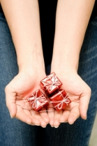 """Holding Small Christmas Box"" by hin255"