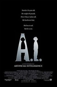 AI artificial Intelligence movie poster