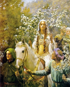 John_Collier_-_Queen_Guinevere's_Maying480