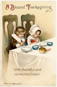 Thanksgiving card courtesy of The Graphics Faery