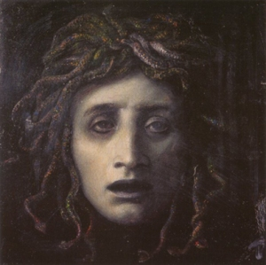 Medusa by Arnold Bocklin