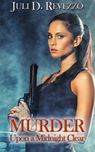 Murder Upon a Midnight Clear, paranormal, mystery, romance, Christmas-themed