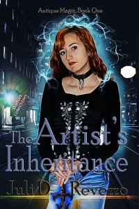 The Artist's Inheritance, by Juli D. Revezzo, witch fiction, pagan fantasy, witch fantasy, urban fantasy, Fort Pickens, Amazon. Kindle Unlimited