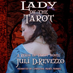 Lady of the Tarot audiobook, available at Audible, Itunes, Amazon