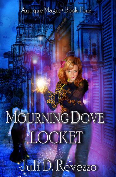 Mourning Dove Locket, Antique Magic book four, by Juli D. Revezzo, urban fantasy