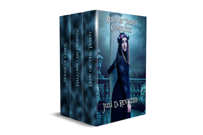 Reign of Tarot boxed set by Juli D. Revezzo, Gothic Romance, Raven Queen Publications, French revolution, fiction, paranormal romance, Kindle