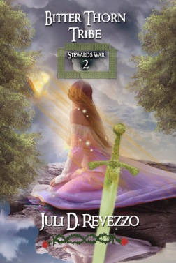 Bitter Thorn Tribe by Juli D. Revezzo, paranormal romance, fantasy romance, druids