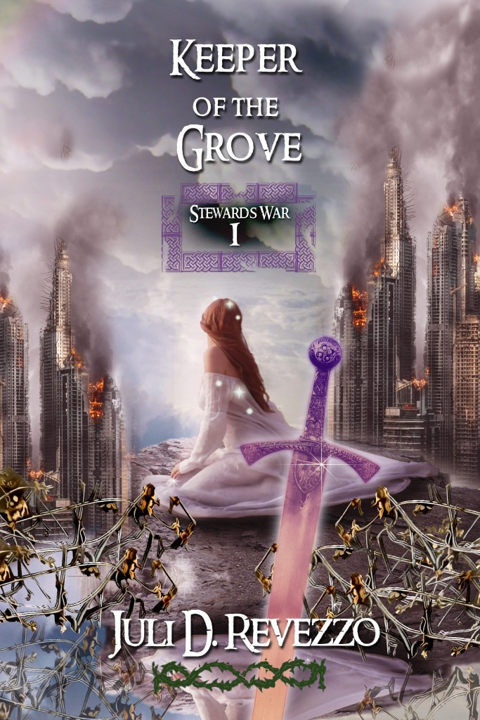 Keeper of the Grove by Juli D. Revezzo, Celtic fantasy, urban fantasy, druids, Kindle Unlimited